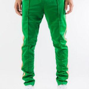 Serenede Green Track Pants Forgiven Saint Front.progressive