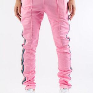 Serenede Pink Track Pants Rose Quartz Back.progressive