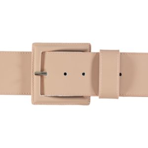 Cintura Alta In Pelle Patent B-LOW THE BELT