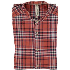 Camicia In Cotone Fantasia Check DNL