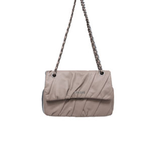 Tracolla In Pelle Plisse' MIA BAG