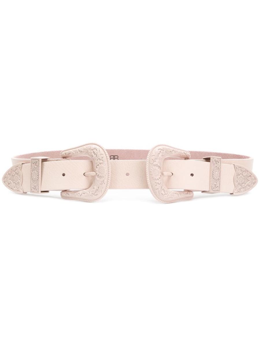 la migliore vendita scaricare la consegna morbido e leggero Cintura in pelle doppia fibbia B-LOW THE BELT