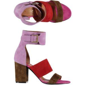 Sandalo In Camoscio VIAROMA15