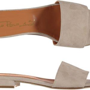 Sandalo Piatto In Camoscio VIAROMA15