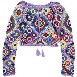 Maglia Crochet F.THE ROSES