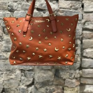 Shopper In Pelle Con Borchie Stella E Luna MIA BAG