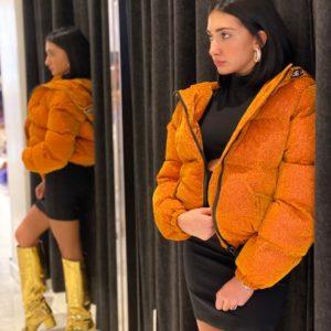 Piumino Glitter Kendall E Kylie