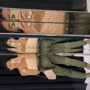 Pantalone Cargo DENIM REV