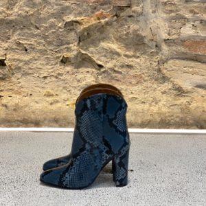Stivaletto Pitone Jeans VIA ROMA 15