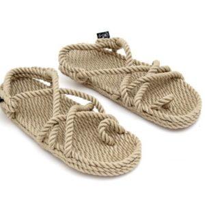 Sandalo In Corda Con Infradito NSOM