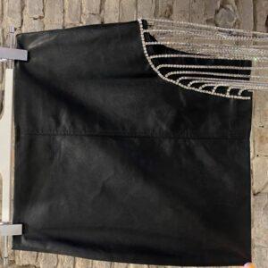 Miniskirt In Ecopelle