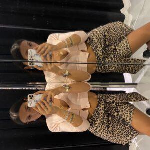 Miniskirt In Suede