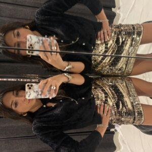 Miniskirt Paillettes