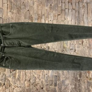 Jeans Velluto Verde BE ABLE