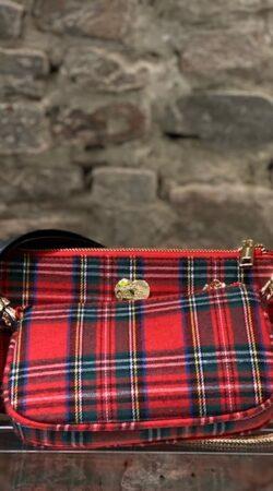 Multi Pochette Tartan  MIA BAG