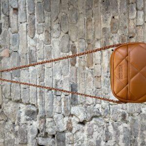 Tracollina In Pelle Trapuntata – MIA BAG