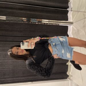 Denim Skirt Asimmetrica