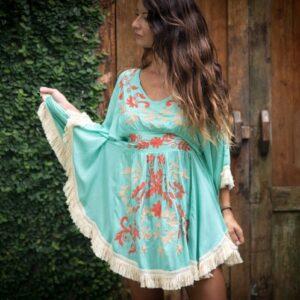 Formentera Aquamarine Dress