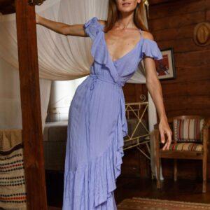 Formentera Violet Dress