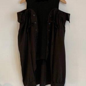 Maglia Camicia In Cotone