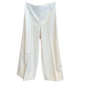 Pantalone In Ecopelle A Vita Alta