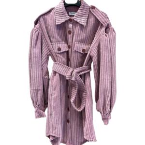 Jacket Dress Con Cintura