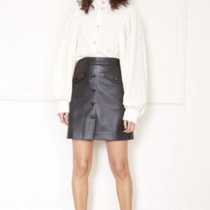 Miniskirt Ecopelle